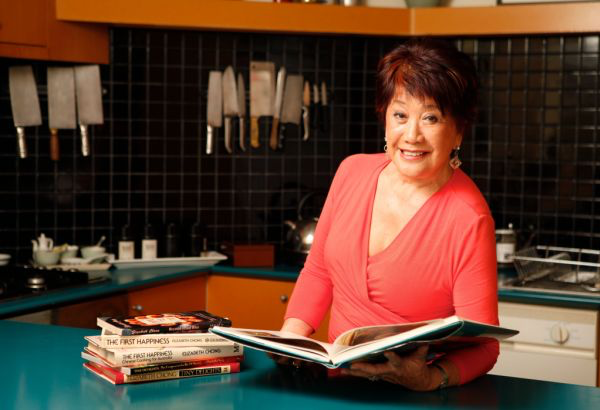Cook book author Elizabeth Chong at home in Richmond. 22 August 2011. The Age Epicure. Pic by EDDIE JIM. Photo: Eddie Jim