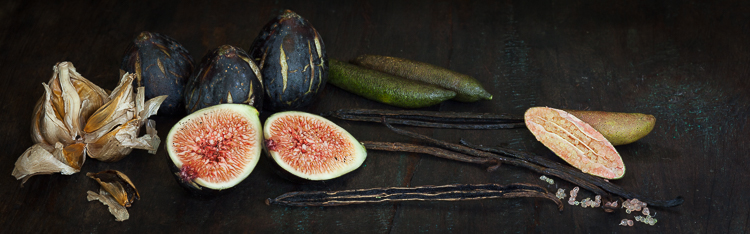 chef sam gowing figs and garlic